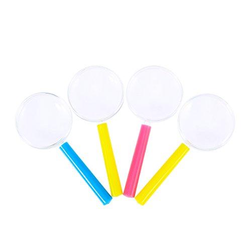 TOYMYTOY Kinder Lupe Toys 4pcs (Farben Lieferung in zufälliger)