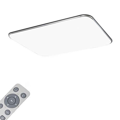 Deckenlampe LED Deckenleuchte Dimmbar 64W Wohnzimmer Lampe Modern Deckenleuchten Kueche Badezimmer Flur Schlafzimmer