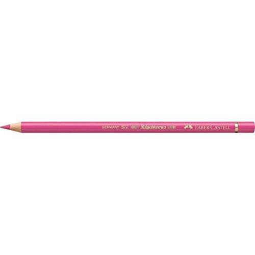 Faber-Castell Polychromos 110128–Buntstift (Fixed, Holz, Pink, Rosa, rund)