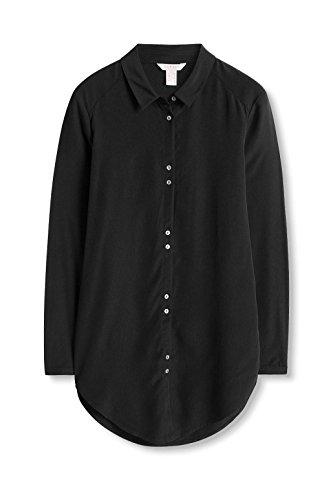 ESPRIT Damen Bluse Schwarz (Black 001)