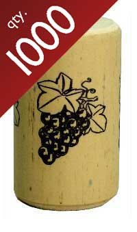 Nomacorc Synthetic Wine Corks #9 x 1 1/2, Bag of 1000 by Midwest Homebrewing and Winemaking Supplies