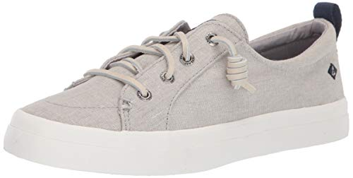 Sperry Women's Crest Vibe Washed Linen Sneaker -
