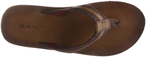 GANT Footwear Herren Breeze Zehentrenner, Braun (Coffee Brown), 43 EU