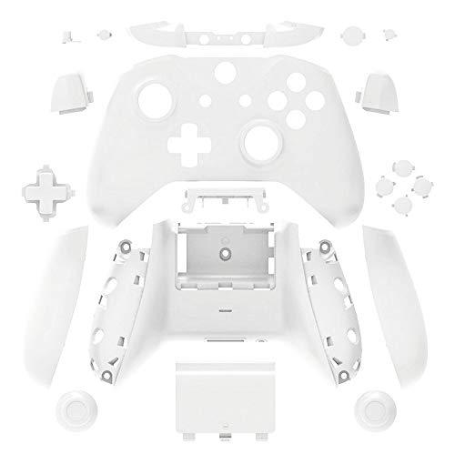 Beracah Gehäuse Gehäuse Tasten LB RB Xbox One S Controller weiß weiß