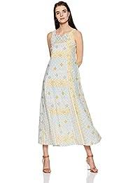 AND Women's A-Line Cotton Maxi Dress