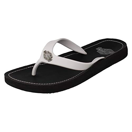 n Zehentrenner - Cabrini D93902 - White, Schuhgröße:EUR 38 ()