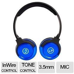 Able Planet SH180BLM Musicians Choice Stereo On-Ear Headphones (Metallic Blue)