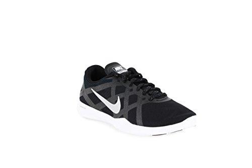 Nike Wmns Lunar Lux Tr, Scarpe sportive, Donna - BLACK/MTLLC SILVER-WHITE-VLT