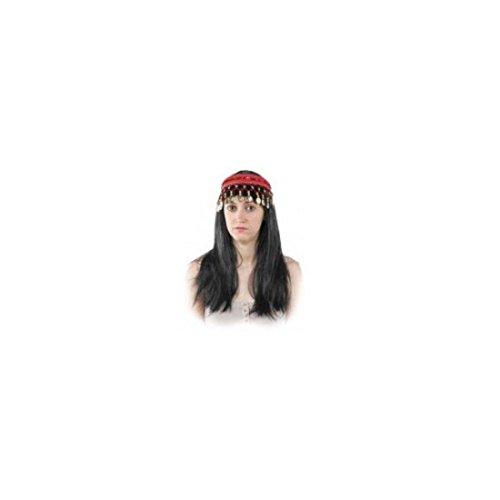 Imagen de disfraces fcr  diadema mora en rojo