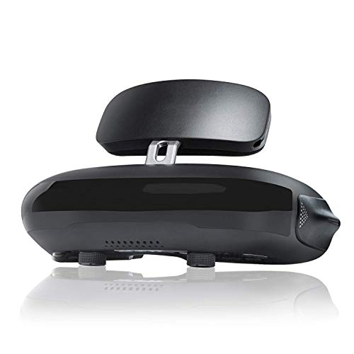 QLPP VR Headset 3D-Schutzbrille, 3D-Viewer-Unterstützung für Blu-ray-Player 1920x1080x2 HD-Bildschirm 4K, kompatibel mit DJI-Drohnen der Set-Top-Box PS4 Xbox PC-Nintendo-Smartphone (Ray Player Blue Sony Wifi)