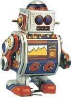MS235 Roger Robot - mecanismo del juguete del estaño Reproducción de