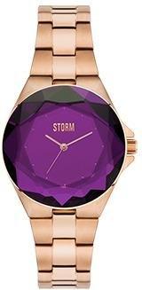 STORM London Crystana Damenuhr roségoldfarben/violett 47254/P