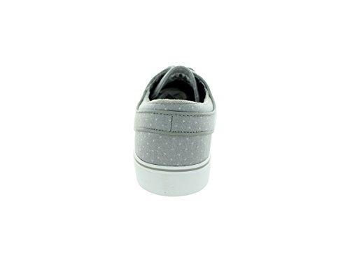 Nike Zoom Stefan Janoski Cnvs Prm, Chaussures de Skate Homme, Multicolore, Taille Medium Grey/Mdm Grey/Smmt Wht