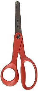 Fiskars - Tijeras infantiles (13 cm, para zurdos), color rojo
