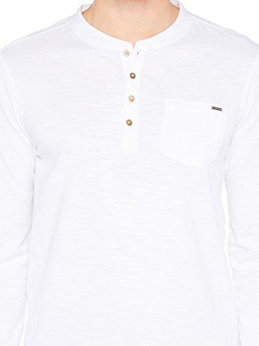 Colorado Denim Herren Langarmshirts Shauwn Weiß (white 1000)