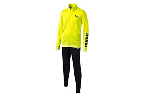 Puma Rebel Suit Closed Hommes Sport Costume Jogging Survêtement Noir, Dimension:XL