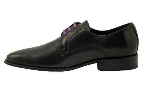 Chaussures lacets Fluchos-8960-noir Noir