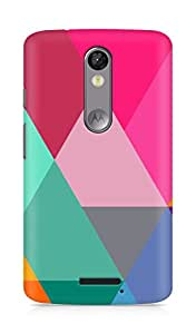 Amez designer printed 3d premium high quality back case cover for Motorola Moto X Force (Pattern 5)
