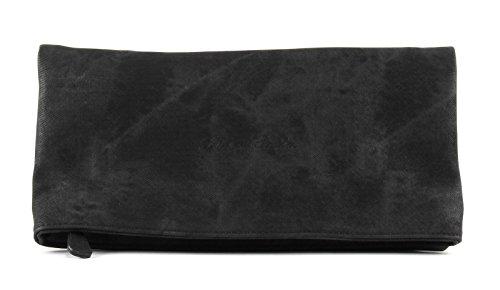 Fritzi aus Preussen Damen Ronja Clas Clutch, Schwarz (Black) 1/Canvas, 29x15x3 cm Canvas Womens Schuhe
