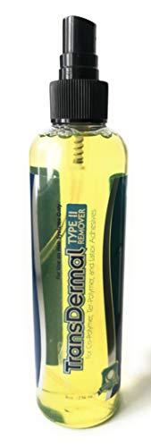 PHLTransDermal Type II Remover | Citrus Solvent zum Lösen von Kleber, Tape und Keratin Bond bei Perücken, Haarteilen und Extensions - 236ml