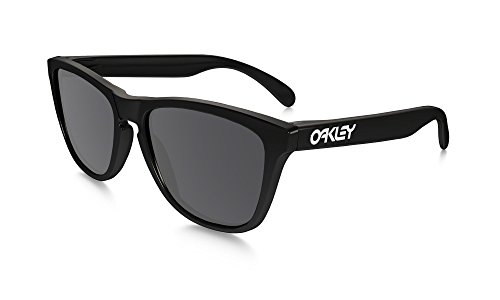 Oakley Frogskin Polished Black Grey