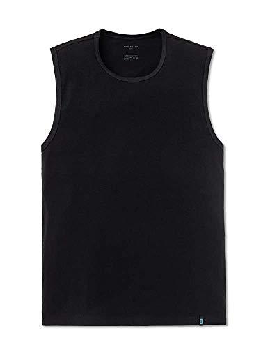 Schiesser Authentic Unterhemden 2er Pack Black XL (7) (Authentic Tank)