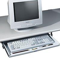 FKV Ausziehbare Tastaturschublade, PC-grau
