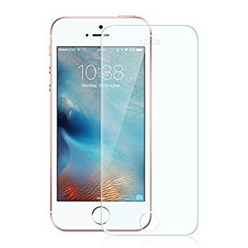 MobiKartz™ Tempered Glass,Premium Series 2.5D Full Screen Guard for iPhone 5 / 5S / SE,Anti-explosion, Anti-fingerprint, Oil Resistance, Shatterproof edge, Anti-glare, Sensitive touch, HD display,Tempered Glass Screen Protector for iPhone 5 / 5S / SE,  available at amazon for Rs.111