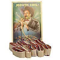Mouth Coils (Ruban à la bouche Multicolore)