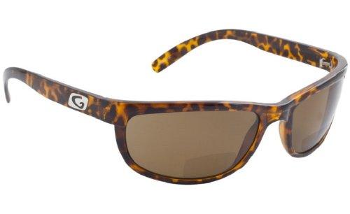 Richtlinie eyegear Hatteras Bifokal + + 2,00SUNGLASS, Schildkröte rahmen, offene braun polarized Lens, Medium/Large