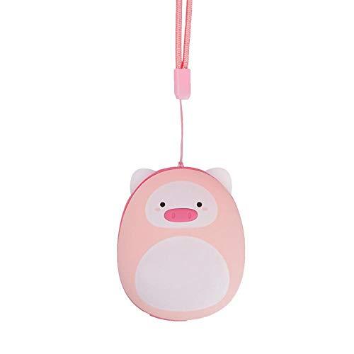 QJXSAN Mini réchauffeur de Main USB Dessin animé Charge Trésor au Trésor créatif de Chauffage électrique Portable