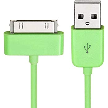 3 USB SYNC DATA POWER CHARGER CABLE APPLE IPAD IPHONE 4S 4 3GS 3G IPOD NANO PINK