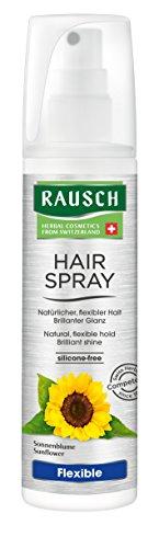 Rausch Hairspray Flexible Non-Aerosol (ideal für ein lockeres Finish oder zur Fixierung einzelner Haarpartien), 1er Pack (1 x 150 ml)