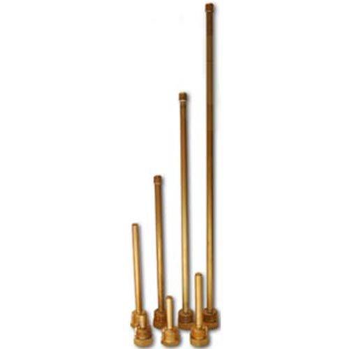 "Tauchhülse 6 mm - 1/2"" AG - Messing 140 mm"
