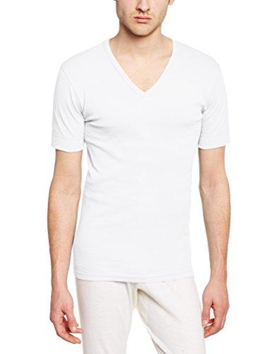 Armor Lux Herren T-Shirt Weiß - Blanc (001 Blanc)