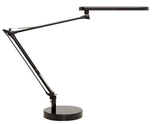 UNILUX 400033683 LED-Tischleuchte  Mambo LED LED-Leuchte schwarz mit Klemme & Tisch-Fuß Stand-Fuß A++