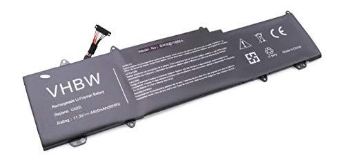 vhbw Batterie Li-Polymer 4400mAh (11.3V) pour Notebook Laptop ASUS Zenbook UX32LA-R3011H, UX32LA-R3012H. Remplace: 0B200-00070200, C13-N1330, C31N1330