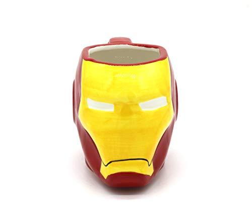 Taza Iron Man Vengadores 3D