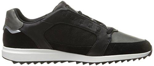 Diesel Herren Y01461 Sneaker, Schwarz Schwarz Castle