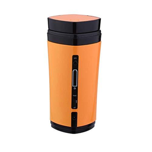 Cmbyn USB Kaffeemaschine Mini Espressomaschinen Vollautomaten Kaffeetasse Automatische Mischheizung Rührfunktion Tragbar Auto Reisen - Kaffeemaschine Mit Batterien