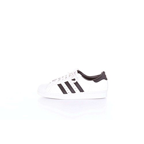 adidas Originals Superstar 80s Hommes Baskets Blanc S75836