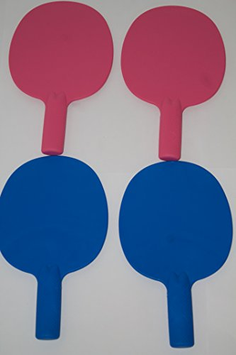 set-of-4-robust-plastic-table-tennis-bats-pingpong-auction-game-paddlesmrmrs-colour-2-pink-2-blue