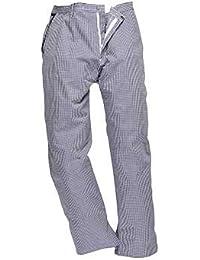 PORTWEST C075 Barnet Chefs Trousers Check C075CH-RXXL