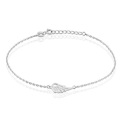 Rendez-vous RueParadis Paris Pulsera Aura - Joyas de Mujer - Plata 925 Blanca - Nuestros amuletos
