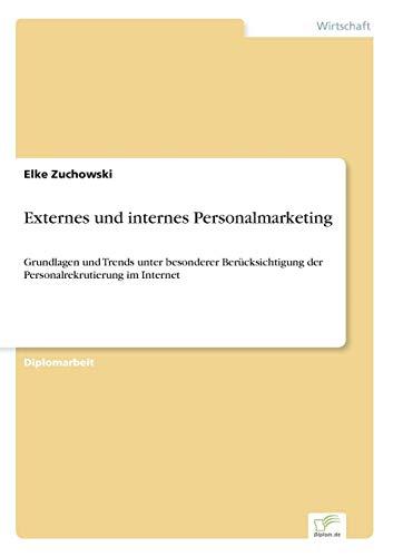 Externes und internes Personalmarketing: Grundlagen und Trends unter besonderer Berücksichtigung der Personalrekrutierung im Internet