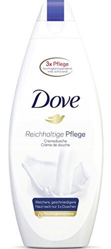 Dove Cremedusche Reichhaltige Pflege, Duschgel, 6er Pack (6 x 250 ml)