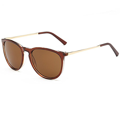 Z-P Unisex Classical Retro Round Lens Radiation UV400 Sunglasses 54MM