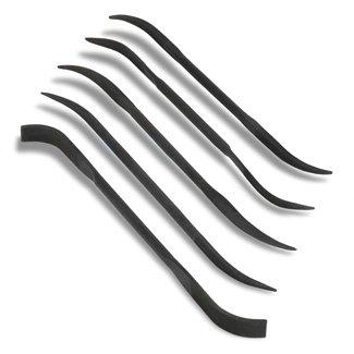 RAYHER 2723600 Feilen-Set 5 teilig, 18 cm, 5 Sorten