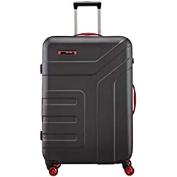 """Serie """"Vector"""": robustas Maletas rígidas con Ruedas y maletines de Belleza en 4 Modernos Colores"""