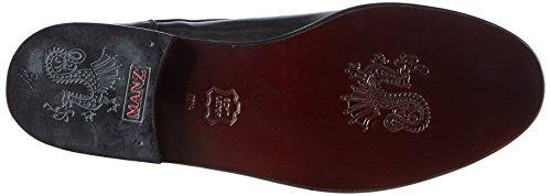 Manz 162093-05, Chaussures de Ville Homme Noir (001 Schwarz)